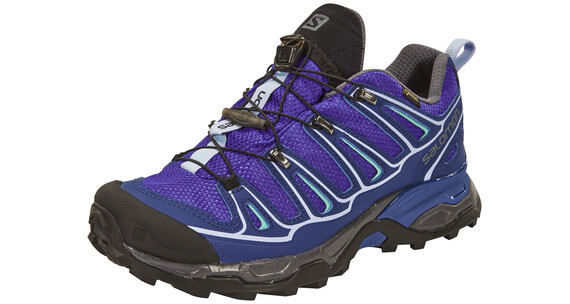 Salomon X Ultra 2 GTX Hiking Shoes Women spectrum blue/blue depth/pale lilac